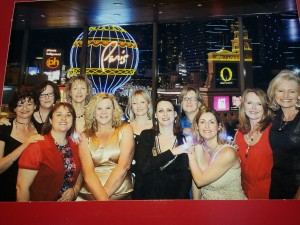 The Eleven Foxy Ladies:   Tracey, Janine, Liane, Cec, me, Kim, Yvette, Bernie, Justine, Kay and Claire.